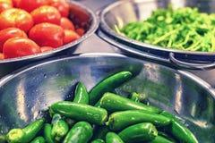 Lascia producono una certa salsa immagine stock