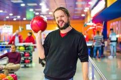 Lasciano andare il bowling Fotografia Stock