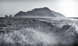 Lasciare Capri Fotografia Stock
