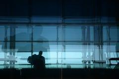 Lasciare l'aeroporto Fotografie Stock