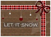 Lasciate esso nevicare Fotografia Stock