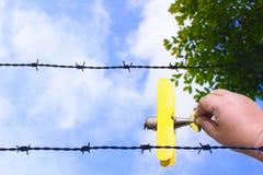 lasciate va, la libertà fuori fotografia stock libera da diritti