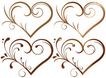 Lase heart Stock Images