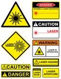 Laser Image stock