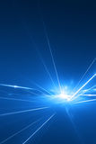 laser abstrait de fond Image stock