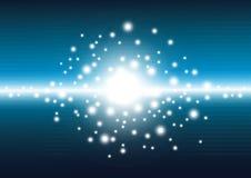 Laser-abstrakter Hintergrund Lizenzfreies Stockbild