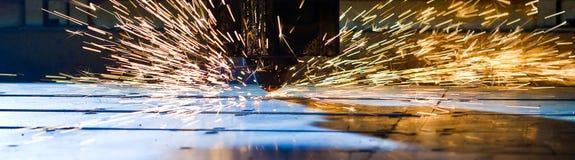 Laser-Ausschnittabschluß oben stockfotos