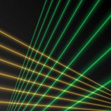 Laser beam background. Or texture Royalty Free Stock Image