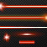 Laser beams pack Royalty Free Stock Image