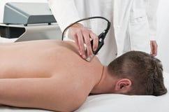 Laser-behandling Royaltyfri Fotografi