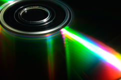 Laser compact disk. Stock Photography