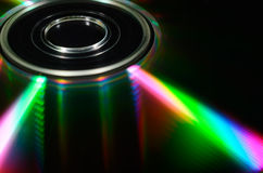 Laser compact disk. Stock Images
