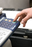 Laser copier and fax Royalty Free Stock Photo