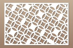 Free Laser Cut Panel. Decorative Card For Cutting. Arabic, Line Art Pattern. Ratio 2:3. Vector Illustration Stock Images - 148875634