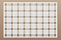 Free Laser Cut Panel. Decorative Card For Cutting. Geometry Line Grid Pattern. Ratio 2:3. Vector Illustration Royalty Free Stock Image - 148875856