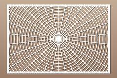 Free Laser Cut Panel. Decorative Card For Cutting. Geometry Line Pattern. Ratio 2:3. Vector Illustration Stock Image - 148875321