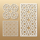 Laser cut panel Royalty Free Stock Photography