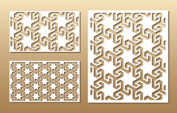 Laser cut panel Royalty Free Stock Photo