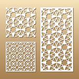 Laser cut panel stock illustration
