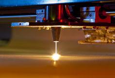 Laser cutter Royalty Free Stock Photography