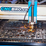 Laser cutting Royalty Free Stock Images
