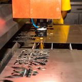 Laser cutting Royalty Free Stock Photos