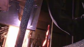 Laser cutting machine stock video footage