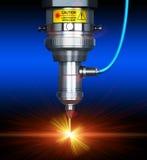 Laser cutting technology Stock Image