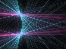 Laser d'énergie Images libres de droits