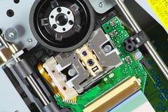 laser de Bleu-rayon Photographie stock