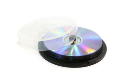 laser de disques de gâteau de cadre Photos stock