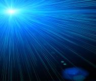 laser de fond Images libres de droits