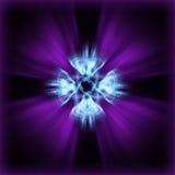 Laser del quasar di Quantum Fotografia Stock
