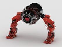 Laser del robot fotografie stock