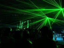 laser-deltagare Royaltyfria Bilder