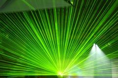 laser-deltagare Arkivbild