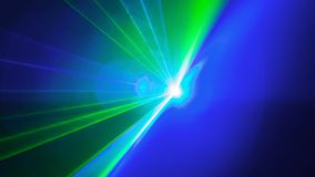 Laser disco light of blinding show Royalty Free Stock Photos