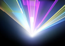 Laser Disco Lights Background Royalty Free Stock Photography