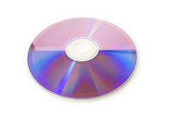 Laser disk isolated Stock Photography