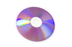Laser disk isolated Stock Photo
