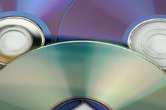 Laser disks Royalty Free Stock Photo