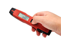 Laser distance meter Stock Images