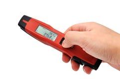 Laser distance meter Stock Images