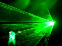Laser du DJ Photo stock