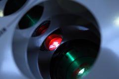 Laser emitter system. Stock Image