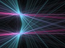 Laser of energy Royalty Free Stock Images