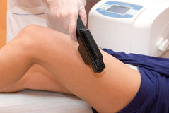 Laser epilation Royalty Free Stock Images