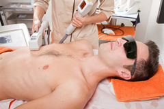 Laser-epilation Lizenzfreie Stockfotos