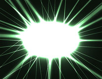 Laser flash. Vector abstract darek background with laser flash, outburst Royalty Free Stock Photo