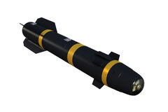 Laser Guided Missile Stock Photos